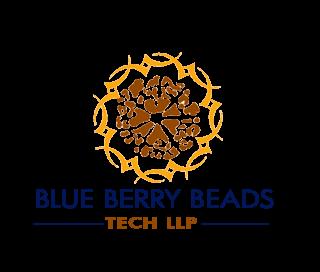 Blue Berry Beads